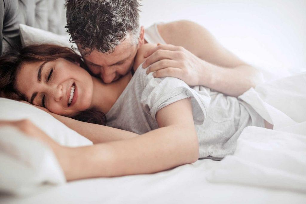 spooning - lazy sex
